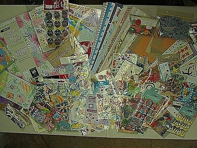 Summer Holidays/Travel Scrapbooking Pack with Album, Paper, Embellishments +more