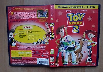 DVD ENFANT DISNEY TOY STORY 2 COLLECTOR 2 DVD jouets amis aventures buzz no lot