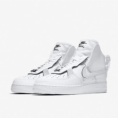 b3db0b9fa7ce NIKE AIR FORCE 1 High PSNY AF1 White Black Men Shoes Sneakers AO9292 ...