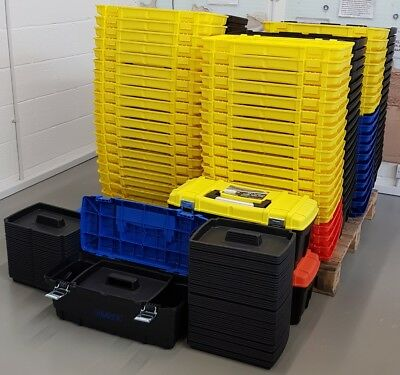 Pallet Qty Of 93 x Draper 610mm Tool Box With Tote Tray - Brand new