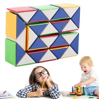 Snake Magic 3D Cube Game Puzzle Twist Toy Party Travel Family Child Gift WQ