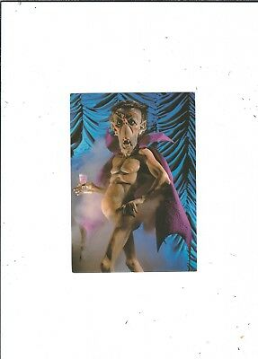 Spitting Image Puppet  Sir Kieth Joseph  Publ 1980  By Clouded Tiger Cards