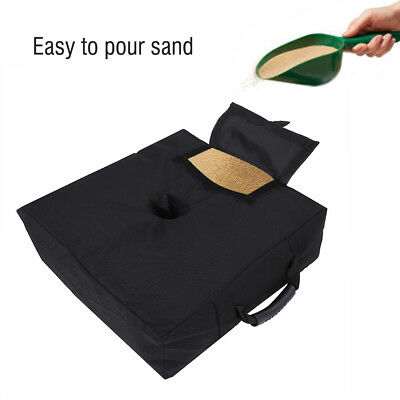 Square Weight Sand Bag for Umbrella Base Stand Outdoor Patio Beach Backyard