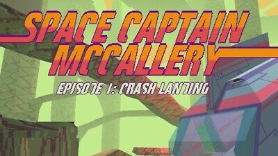 SPACE CAPTAIN MCCALLERY EPISODE 1: CRASH LANDING - Steam key - PC Game - ROW