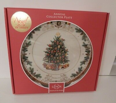 LENOX Annual Holiday Collector Plate 2016 CHRISTMAS Around the World NEW in BOX
