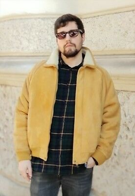 Montone Burberry Vintage Interno In Shearling Anni 90 Oversize