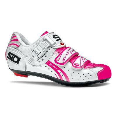 SIDI WIRE CARBON Air Woman Road Cycling Shoes - White Pink Fluo ... 0a20a65b3