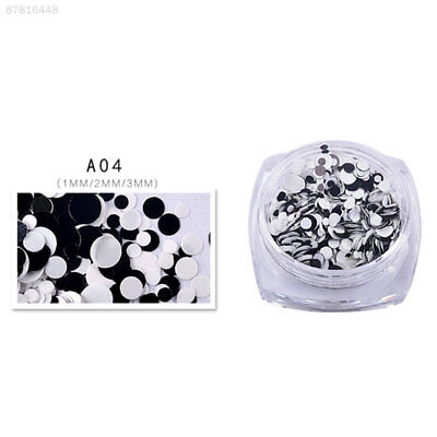 7F62 Nail Sticker Hexagon Sparkle Glitter Flakes Sequins Tips Powder Manicure