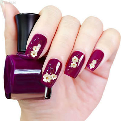 754A Hot Lovely Women Daisy Flower Nail Water Decals Art Transfer Stickers DIY