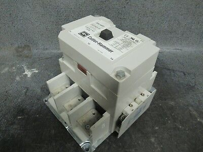 200 Amp Cutler Hammer Contactor C825Kn10 600V 3 Phase 3 Pole // Coil: 120 Vac