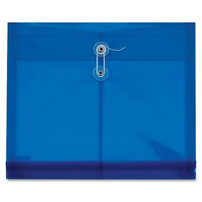 PFX27909 GLW27909 Zip Wallet Poly Files 6 3-Inch Expansion Red and Blue