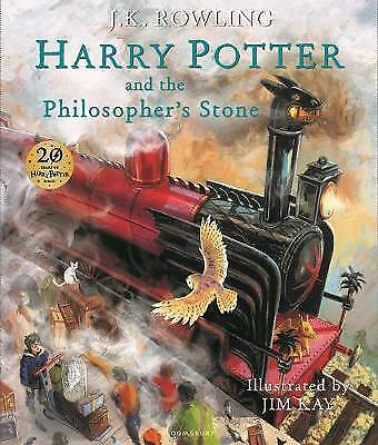 Harry Potter and the Philosopher's Stone Illustrated Edition. By J K Rowling.