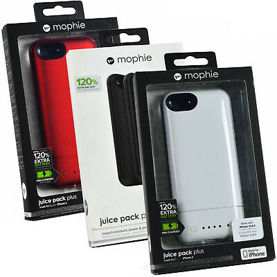 Genuine Mophie Juice Pack 120% Extra Battery Power Case Cover For iPhone 5/5s/SE