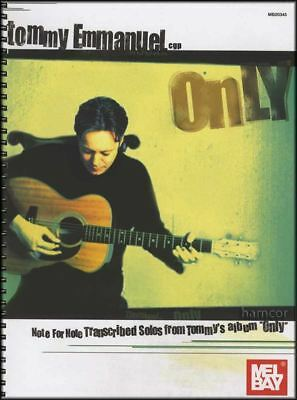 Tommy Emmanuel Only Guitar TAB Music Book Transcribed Solos SAME DAY DISPATCH