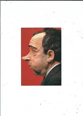Spitting Image Puppet Richard Nixon Publ 1977  By Clouded Tiger Cards