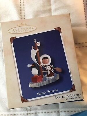 HALLMARK 2003 FROSTY FRIENDS #24 In SERIES, BOX ONLY