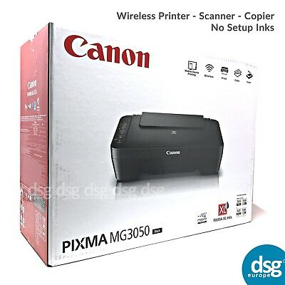 Canon PIXMA MG3050  All-In-One Wireless WiFi Printer Only Deal - 1 YR WARRANTY