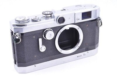 """EXC"" CANON MODEL VT Leica Screw Mount Rangefinder Film Camera Body From JAPAN"