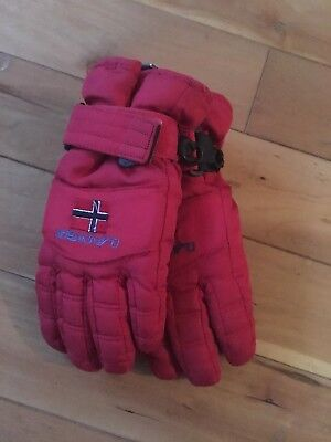 Red Snow  Insulated Gloves Size 6 Years