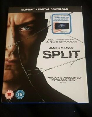 Split - Blu Ray - Slipcase - Digital Download Included