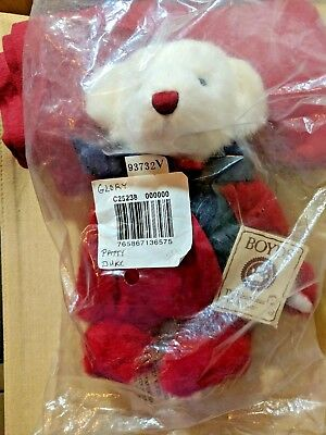"""Boyds Signed Patty Duke Bear """"Glory"""" From  Head Bean Collection Vtg Unopened Toy"""
