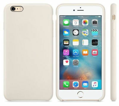 Original Silicone Luxury Ultra-Thin Case for Apple iPhone x Antique white Free