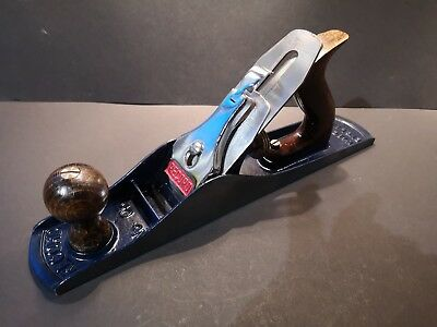 Vintage Extensively Restored Record No5 Bench Plane , in Very Good Condition