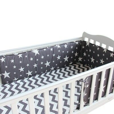 1pc Baby Crib Bumper Soft Infant Cot Guard Cotton Newborn Bed Around Protector