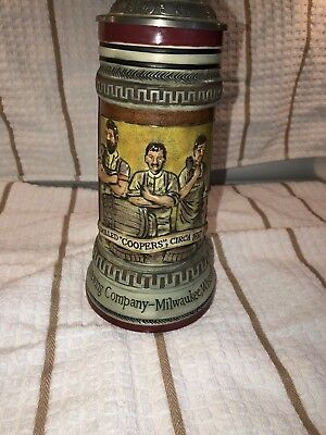 "Coors Beer Stein ""Skilled Coppers"" Number 0197"