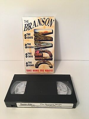 The BRANSON MAGIC 1996 Missouri Documentary VHS Tape Auction Finds 702