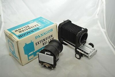 Panagor Extension Bellows Unit With Slide Copier Duplicator For Pentax Boxed K