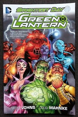 Green Lantern - Brightest Day by Geoff Johns (2012, Paperback)