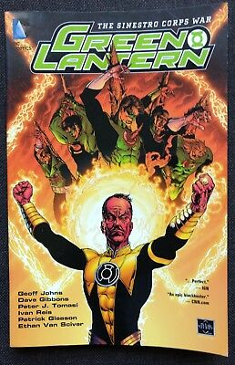 The Sinestro Corps War by Peter J. Tomasi, Geoff Johns and Dave Gibbons (2011)