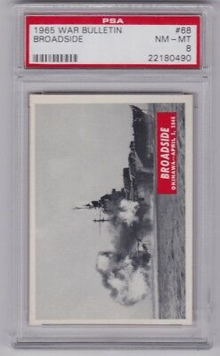 1965 War Bulletin #68 Broadside PSA 8