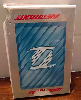 VINTAGE PIEDMONT AIRLINES PLAYING CARDS DECK Bridge Size USA Flying Airplane