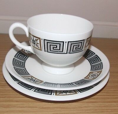 Wedgwood Asia Pattern R 4288 Black  Trio Tea Cup / Saucer / Side Plate