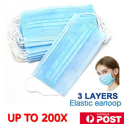 60pcs Disposable Surgical Face Anti-Dust Ear Loop Medical Mouth Mask / Cover
