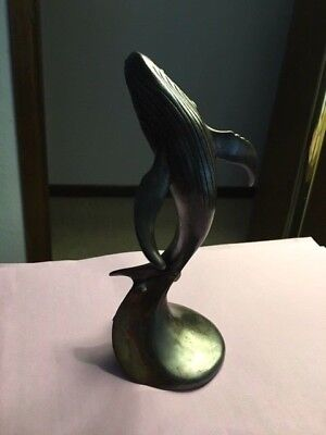 """Dolphin """"Magical Motion"""" Bronze Sculpture by J. Wyatt Brand New Limited Edition"""