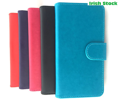 Brand NEW Stylish PU Leather Wallet Case Cover For Alcatel1,1X,3,A3 (ALL MODEL)