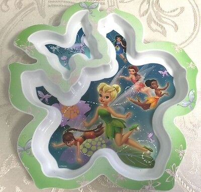 Disney's TINKERBELL Fairy Magic Children plate NEW The First Years Discontinued