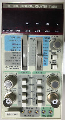 Tektronix DC 503A Universal Counter/Timer Excellent Physical Cond. (For Parts)