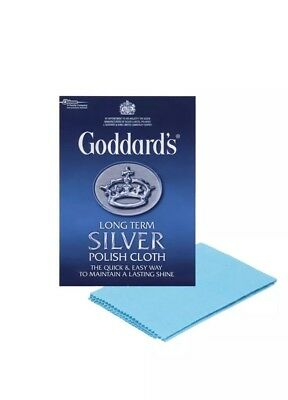 Goddards Long Term Silver Polish Cloth Shine Bling SU UK Fast N Free Uk Del