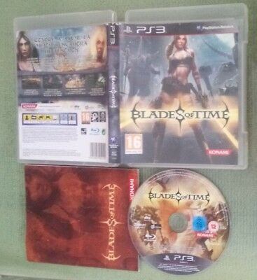 Blades Of Time pal España ps3 playstation spa sp esp konami