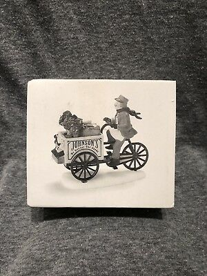 Dept 56 Johnson's Grocery...Holiday Deliveries #58897 NIB Heritage Village