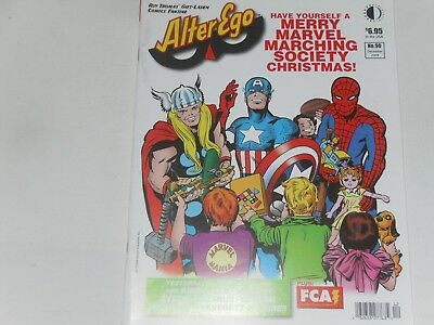 Alter Ego  # 90  Dec  2009   Twomorrows   Fine Condition   Merry Marvel Marching