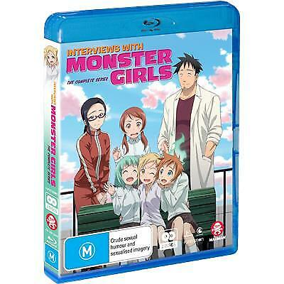 Interviews With Monster Girls (Blu-ray/DVD, 2019) (Region B/4) New Release