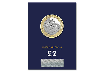 2019 CERTIFIED BU £2 Two Pound Coin 75th Anniversary of D-Day BUNC Sealed Card