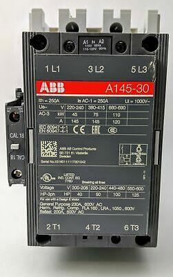 ABB A145-30 3-Phase Contractor
