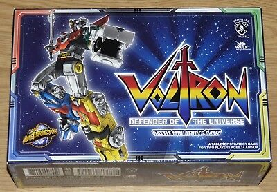 Voltron Defender Of The Universe Battle Miniatures Game Inglese Monsterpocalypse