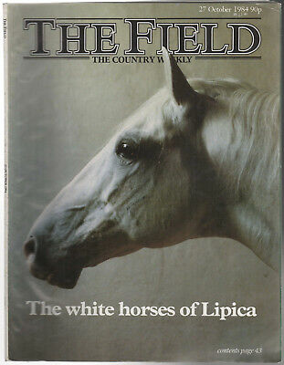 THE FIELD Country Weekly Magazine 27th October 1984 The White Horses of Lipica